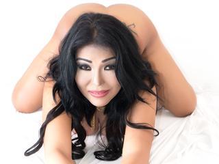 Ausrichtung: transsexuell - Haare: schwarz / lang - Piercing: Zunge - BH-Größe:  - Hautfarbe: asiatisch - Augen: schwarz - Rasur: vollrasiert